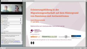 Webinar mit Frau Prof. Dr. Messerschmidt